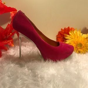 Shoe Republic La Suede Heels